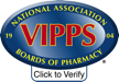VIPPS Logo with Click to Verify